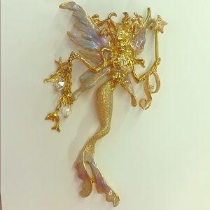 Kirks Folly Fairy Pin